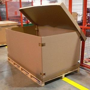 paletová krabica
